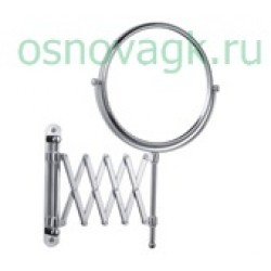 F6408 зкосметическое зеркало с увеличением. настен, шт