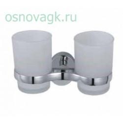 F1608 2-стаканов/стекло с держателем, шт