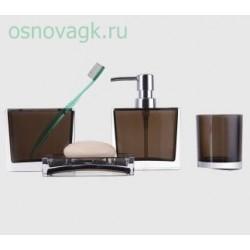 F302-2 абор аксессуаров для ванной комнаты. коричневый, шт