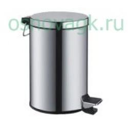 F703 ведро для мусора 12L хром, шт