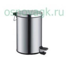 F701 ведро для мусора 3L хром, шт
