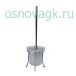 F905 ершик напольный стекло/хром, шт