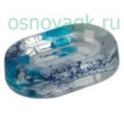 F334 мыльница гелевая/синий, шт