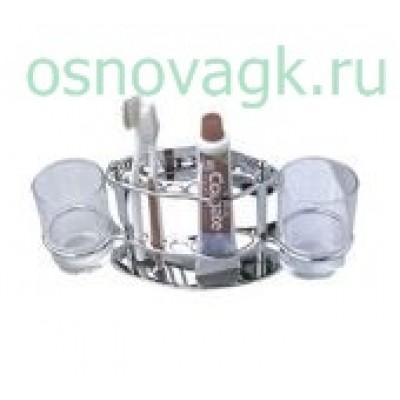 F101 держатель. д/стаканов. зубн/паст/щеток, шт