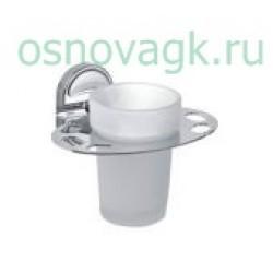 F1906-1 стакан/стекло с держателем. для зубн/щеток, шт