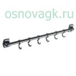 F209-6 вешалка 6 крючков. подвижные, шт