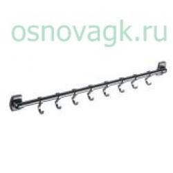 F209-8 вешалка 8 крючков. подвижные, шт