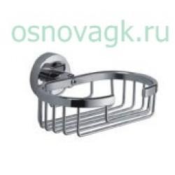 F1702-1 мыльница/хром с держателем, шт