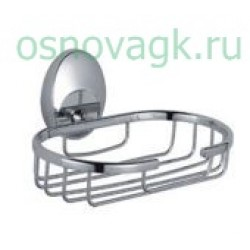 F1602-2 мыльница/хром с держателем, шт