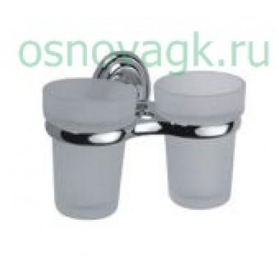 F1508 2-стаканов/стекло с держателем, шт