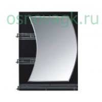 F680 зеркало. полка. черный 800х600, шт
