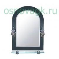 F623 зеркало с свет. полка.тониров. 700*500, шт