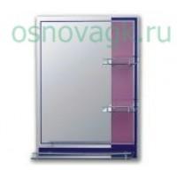 F621 зеркало. полка. розово/синее. 800*600, шт