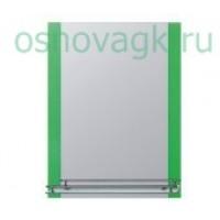 F618 зеркало. полка. зелен. 800х600, шт