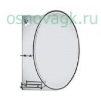 F601 зеркало с свет. полка. 700*500, шт