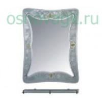 F671 зеркало с рисуноком. настенная полка. 800*600 , шт