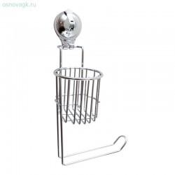 Держатель т/бумаги и дезодоранта на присоске (Air-lock) BI-3105 (12)