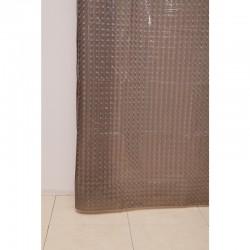 Штора для ванной А-023 3D (2014) дымчатая 180х180 (40)