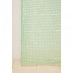 Штора для ванной А-023 3D (8000) зеленая 180х180 (40)