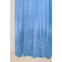 Штора для ванной А-027 3D (9001) голубая 180х180 (40)