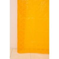 Штора для ванной А-027 3D (6000) желто-оранжевая 180х180 (40)