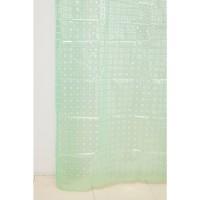 Штора для ванной А-025 3D (8000) зеленая 180х180 (40)