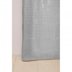 Штора для ванной А-023 3D (0000) прозрачная 180х180 (40)