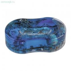 Мыльница малая А8781 В6 (синий)