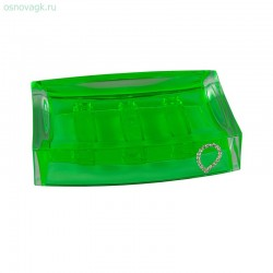 Мыльница A9165 (green cristal)