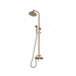 Душевая стойка Bronze de Luxe 10118/1R для ванной и душа одноручковый без излива, лейка круг