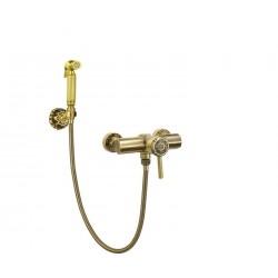 Гигиенический душ Bronze de Luxe  с настенным держателем 10133