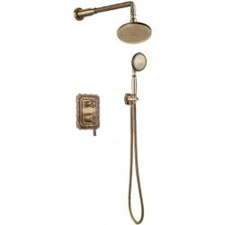 Душевая стойка Bronze de Luxe  для ванной и душа одноручковый встраиваемый, лейка круг 10138R