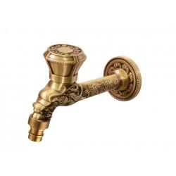 Кран Bronze de Luxe  для бани длинный (насадка для шланга)  21594/2