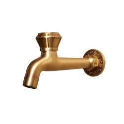 Кран Bronze de Luxe  для бани длинный (насадка-рассекатель)  21596/1