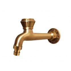 Кран Bronze de Luxe  для бани длинный (насадка для шланга)  21596/2