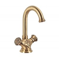 Смеситель Bronze de Luxe  на раковину/кухню 21981