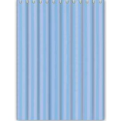 Штора Текстиль/Полиэстер 180cm*200cm голубой