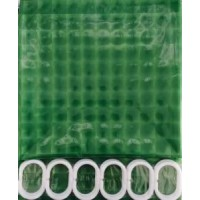 3D Штора Peva/Полиэтилен 180cm*200cm светло-зелёный