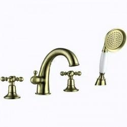 Смеситель для ванны на 4 отверстия GAPPO G1189-6