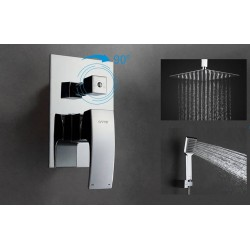 Встраиваемый смеситель для ванны GAPPO G7107