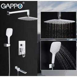 Встраиваемый смеситель для ванны GAPPO G7117-8