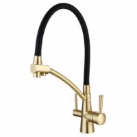 Смеситель для кухни с подключением фильтра питьевой воды GAPPO G4398-1
