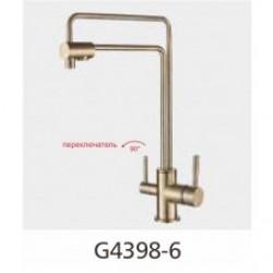 Смеситель для кухни с подключением фильтра питьевой воды GAPPO G4398-6