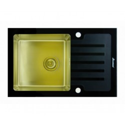 Мойка из нержавеющей стали Seaman Eco Glass SMG-610B-Gold.B (PVD)