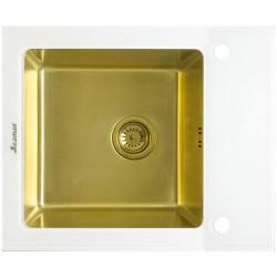 Мойка из нержавеющей стали Seaman Eco Glass SMG-610W-Gold.B (PVD)