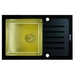 Мойка из нержавеющей стали Seaman Eco Glass SMG-780B-Gold.B (PVD)