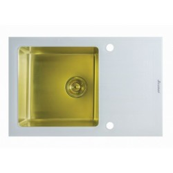 Мойка из нержавеющей стали Seaman Eco Glass SMG-780W-Gold.B  (PVD)