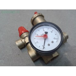 FR503-2 Группа безопасности для отопления