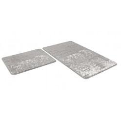 Набор ковриков SHAHINTEX VINTAGE SH V001 60*100+60*50 серый
