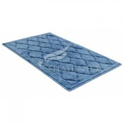 Универсальный хлопковый коврик SHAHINTEX BAMBOO LUX 50*80 голубой